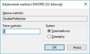 Rejestr - zmiana wartosci